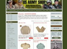 us-army.cz - Army shop